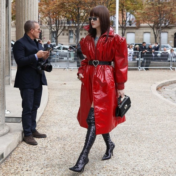 Look de Fashion Week.