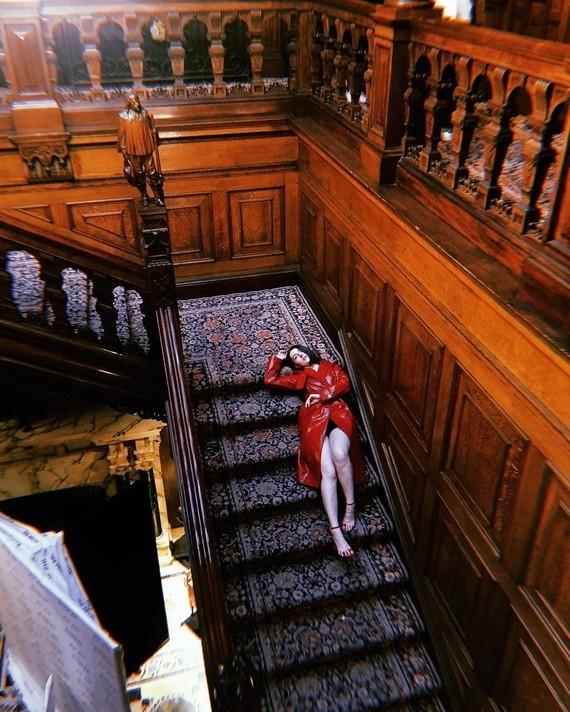 Escalier monumental.