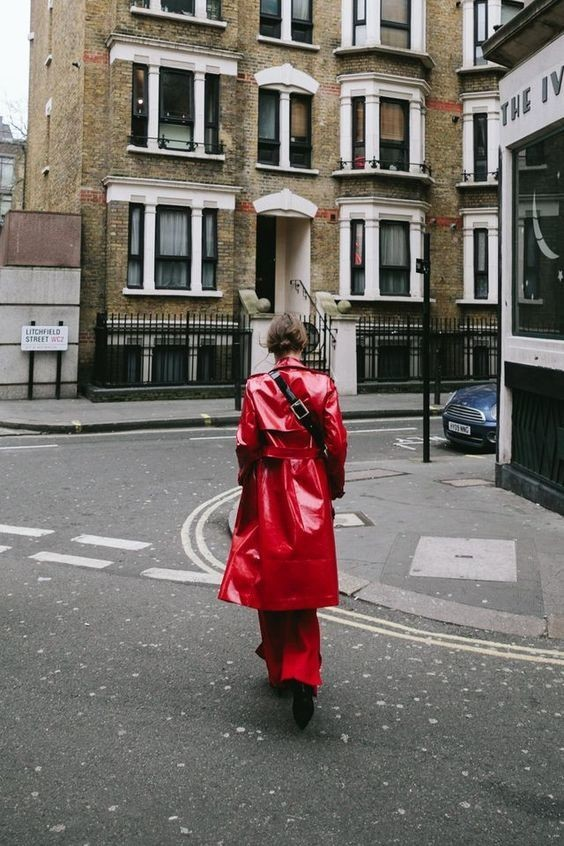Trench Asos à Londres.