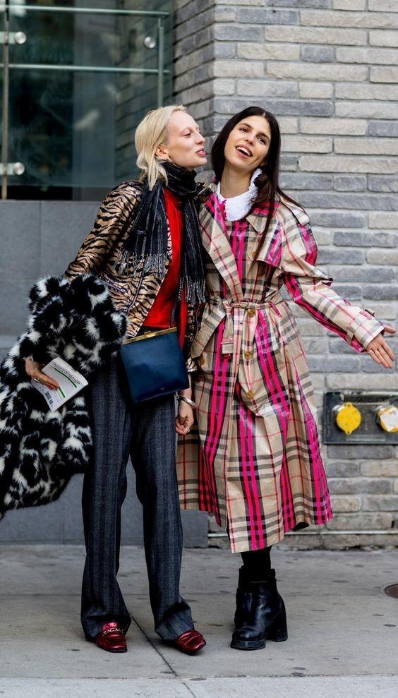 Burberry et Fashion Week.