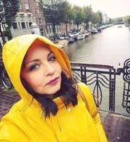 Selfie à Amsterdam.