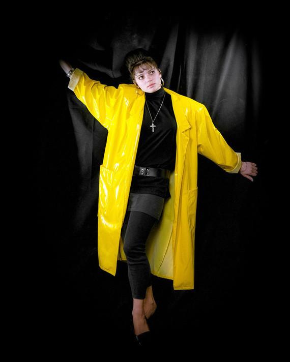 Concept jaune et noir.