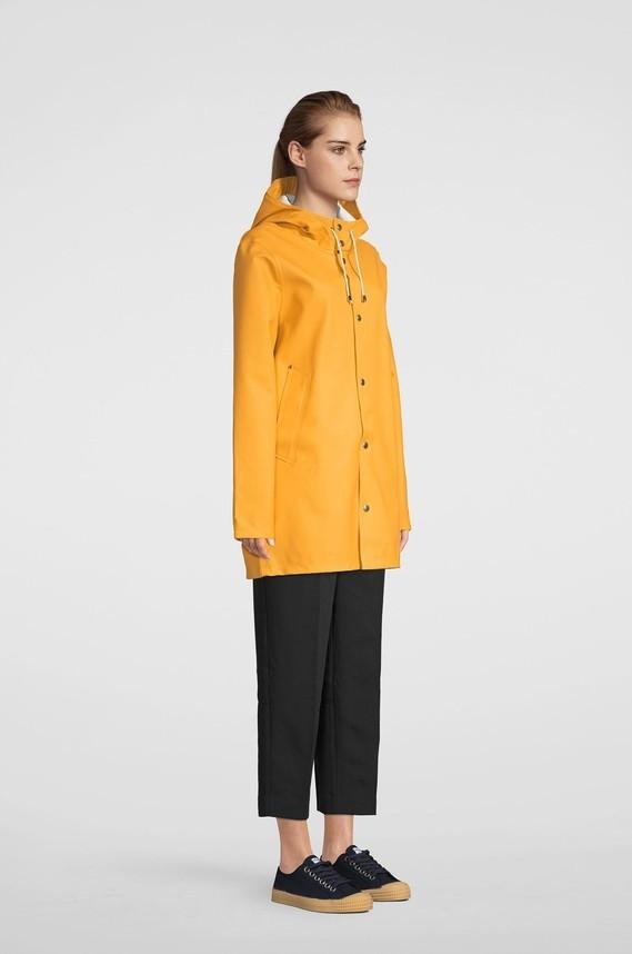 Stutterheims s19 raincoat Stockholm warm honey