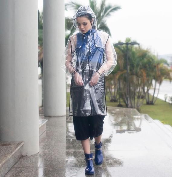Ne faire qu'un avec la pluie.