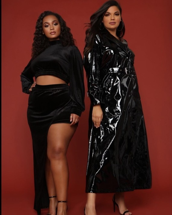 Women in black.