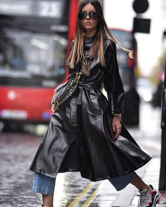 Fashion Week style.