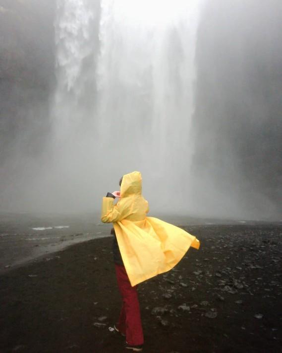 Skogafoss, Islande.
