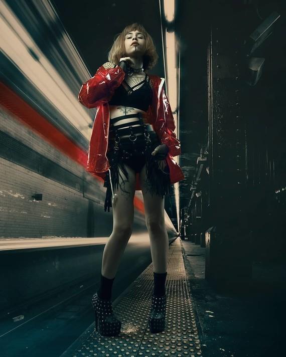Gothique de métro.