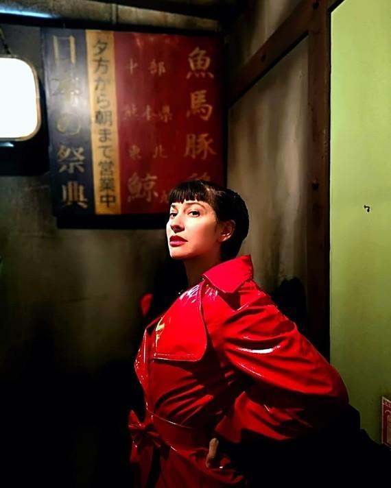 Chinese girl.