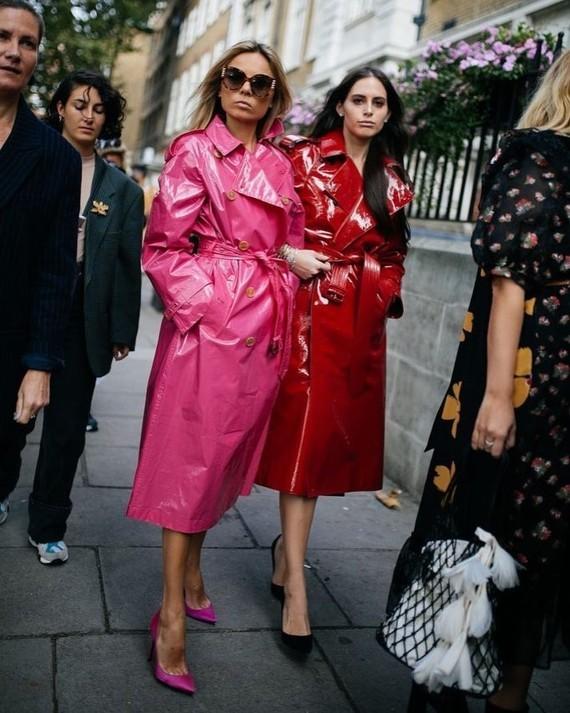 Burberry de Fashion Week.