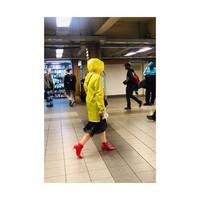 Rencontre de métro.