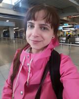 Hall d'aéroport.