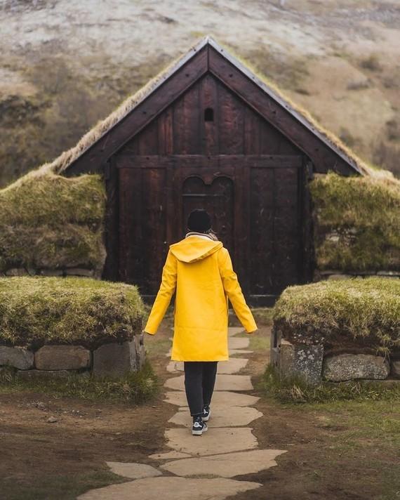 Reykjavik Raincoat.
