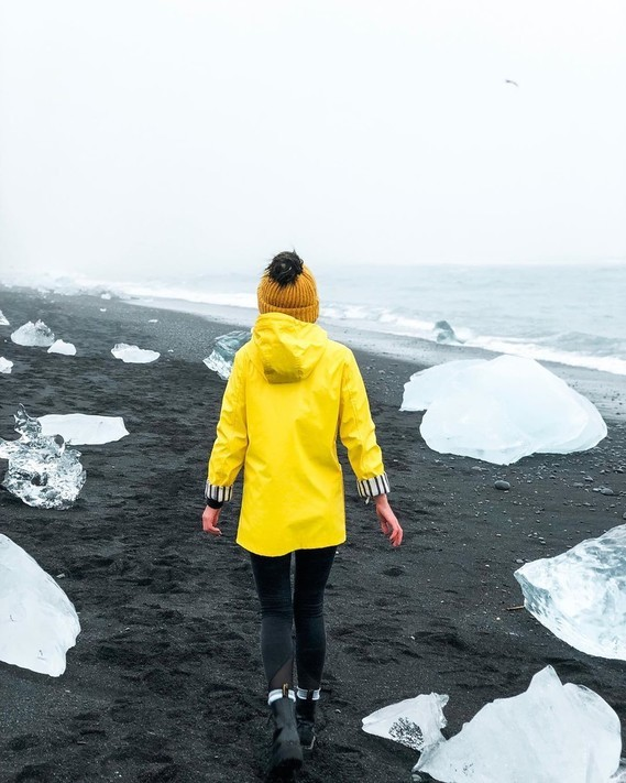 Jökulsarlon, Islande.