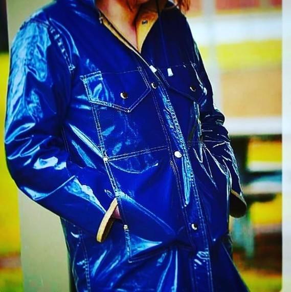 Bleu vintage.