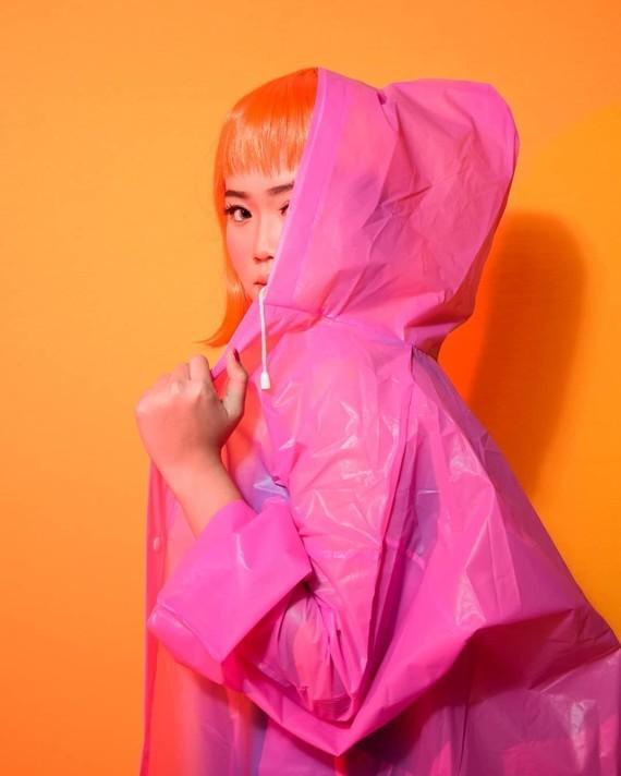 Rose orange.