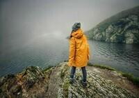 Lac Balea, Roumanie.