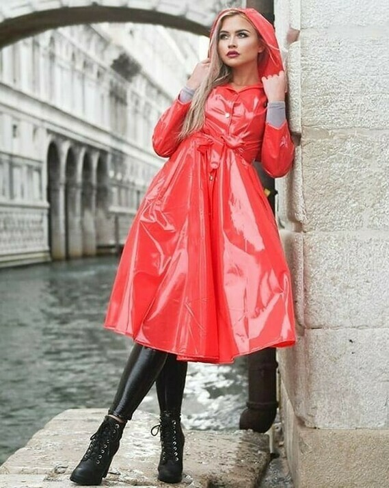 Elements Rainwear à Venise.