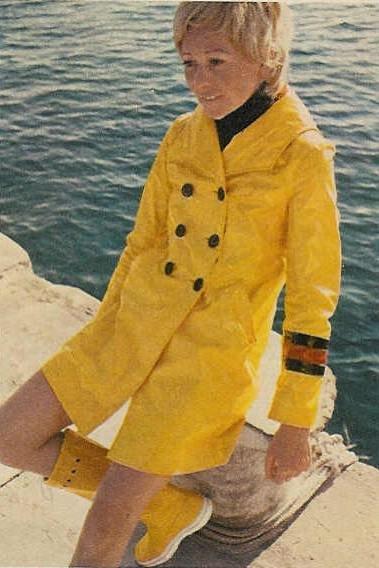 Ciré jaune sixties