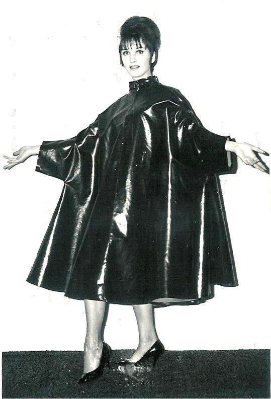 Ciré noir vintage