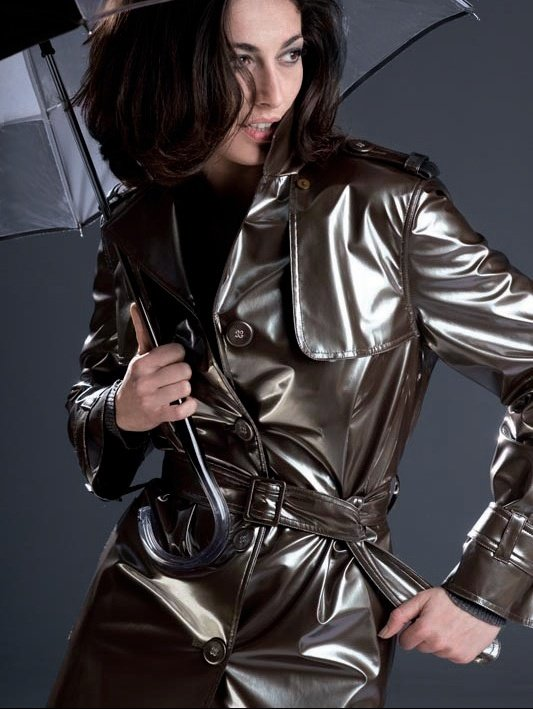 Latex coat is a sign she wants to fuck hard 2