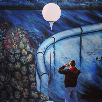 Le mur de lumière