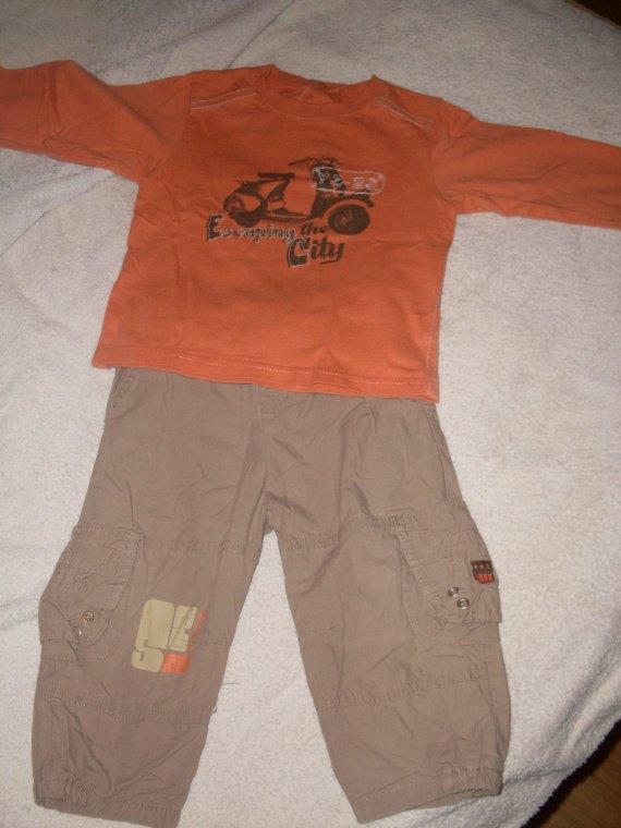 tee shirt TAO 18 mois 051 (pantalon vendu)