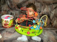 marwane adore ses jouets