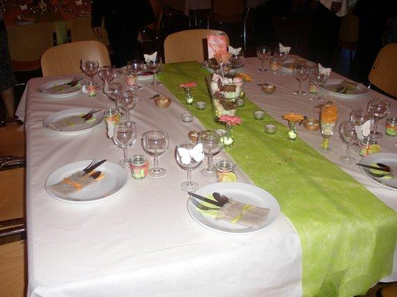 déco table de notre mariage