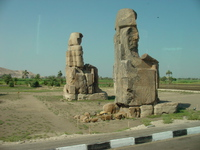 Egypte - colosse de memnon