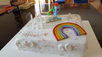Gâteau Rainbowdash