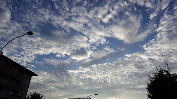 Ciel au matin