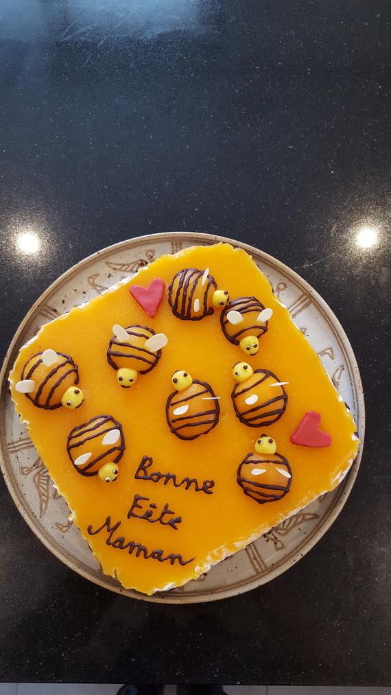 Gâteau ruche