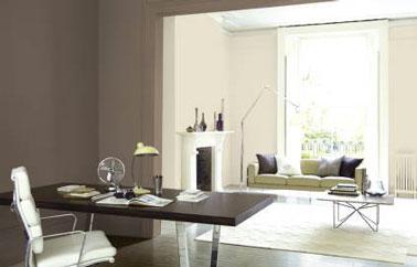 salon couleur lin bureau couleur peinture taupe appartement julie2427 photos club doctissimo. Black Bedroom Furniture Sets. Home Design Ideas