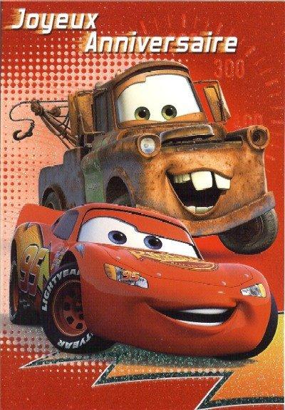 joyeux anniversaire cars