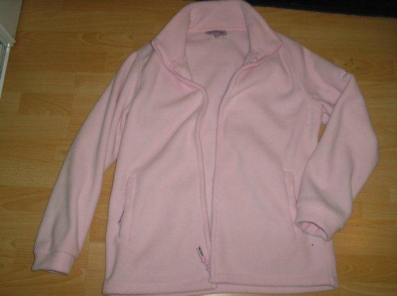 veste polaire rose  XL