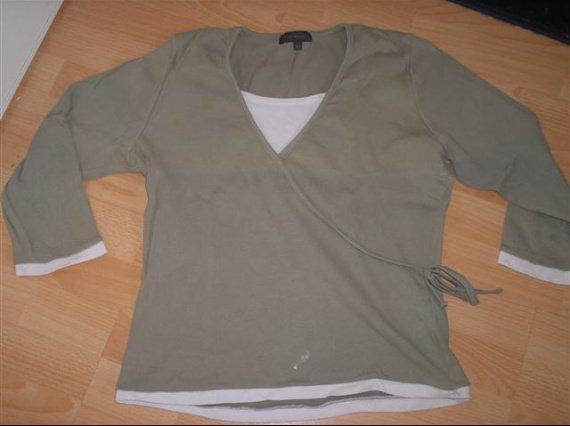 tshirt kiabi manches 3/4 T46