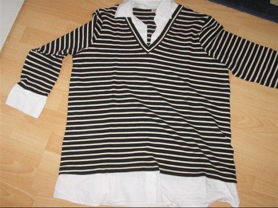tshirt marin ligne maternité la halle T4