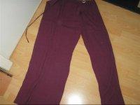 pantalon fluide, rabats lateraux, 42/44