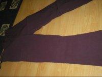 pantalon grossesse 46/48 violet