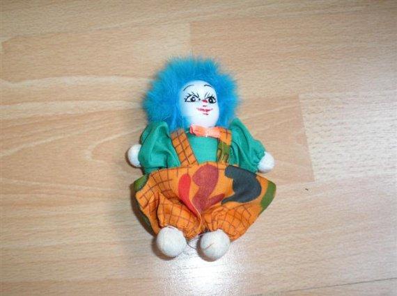 clown tete porcelaine