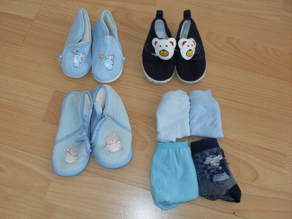 chaussons/chaussettes
