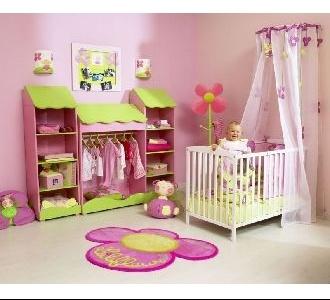 Amazing Chambre Fille Vert Anis de Design - Idées décoration ...