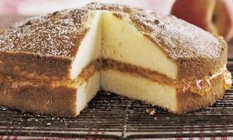 Gâteau pêche