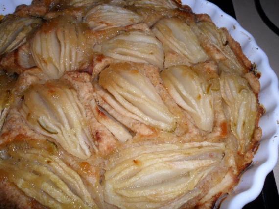 galette aux poires