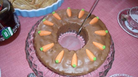 gâteau de carottes / maison