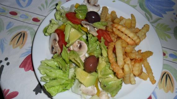 assiette toute simple (maison)