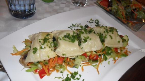 ravioles fourrés légumes