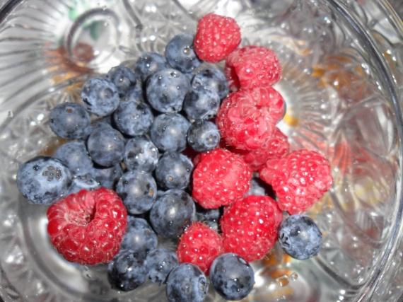 Petits fruits nature