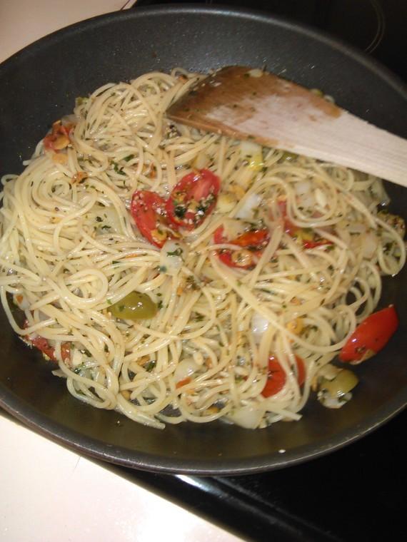 spaghettis à gogo